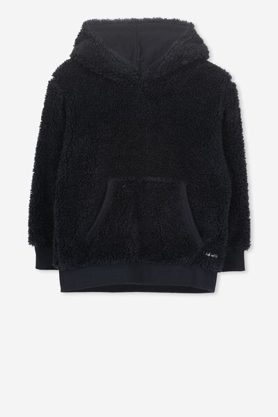 Raphael Teddy Hooded Fleece, NAVY