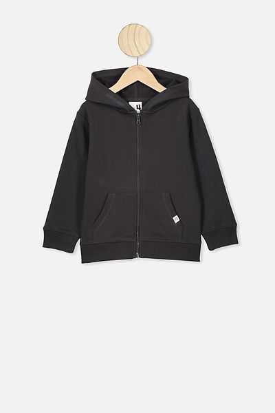 Sunny Zip Through Hoodie, PHANTOM