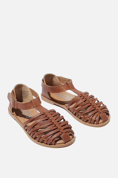 Luella Sandal, ANCIENT TAN