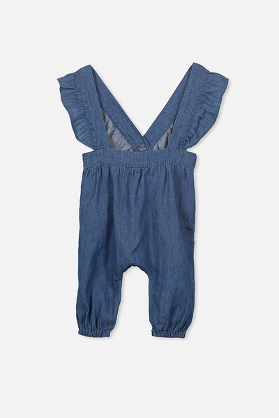 Sophia Overall, CHAMBRAY BLUE