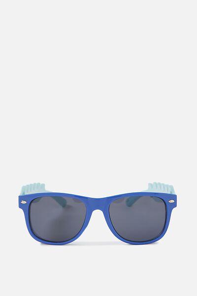 Kids Shark Sunnies, BLUE