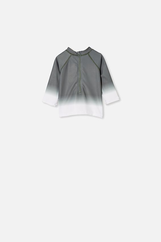 Freddie Rash Vest, SWAG GREEN OMBRE