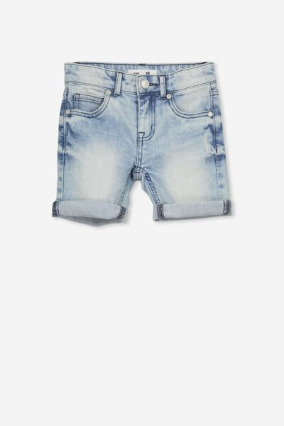 Elliot Denim Short, COASTAL BLUE WASH