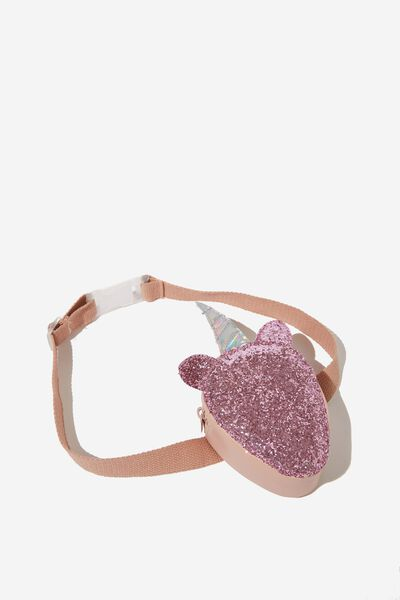 Fashion Belt Bag, PINK SPARKLE/UNICORN