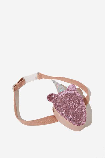 Fashion Belt Bag, PINK SPARKLE/UNICORN