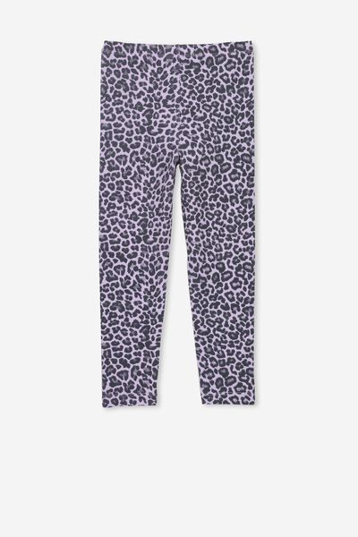 Huggie Tights, BABY LILAC/LEOPARD