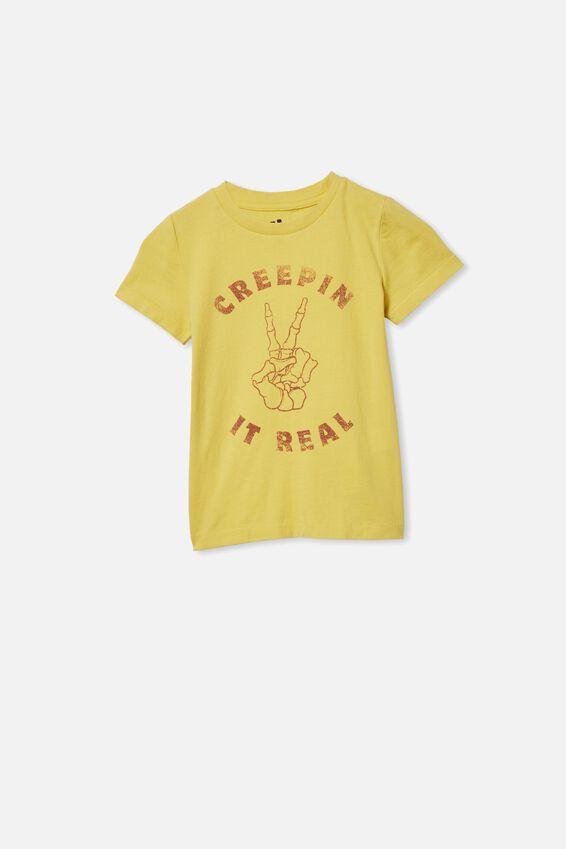 Max Short Sleeve Tee, SUNSHINE/CREEPIN IT REAL