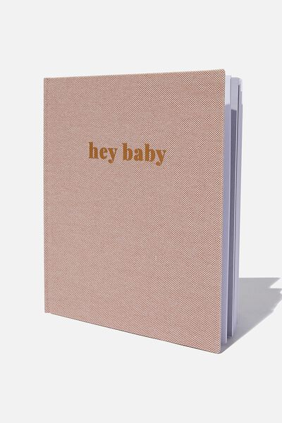 Baby Book, HEY BABY ZEPHYR
