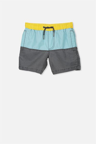 Murphy Swim Short, SHELL BLUE/PHANTOM SPLICE