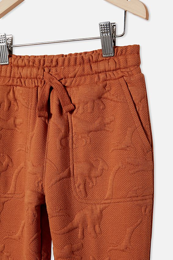 Lux Heritage Trackpant, AMBER BROWN/DINO