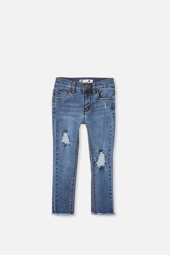 Drea Jeans, MID WASH R&R