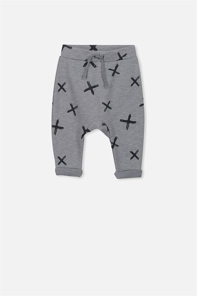 Alfie Trackpant, FADED GREY/CROSS