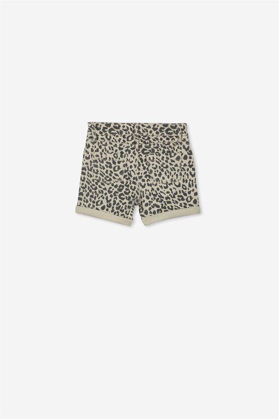 Camilla Denim Shorts, ANIMAL PRINT