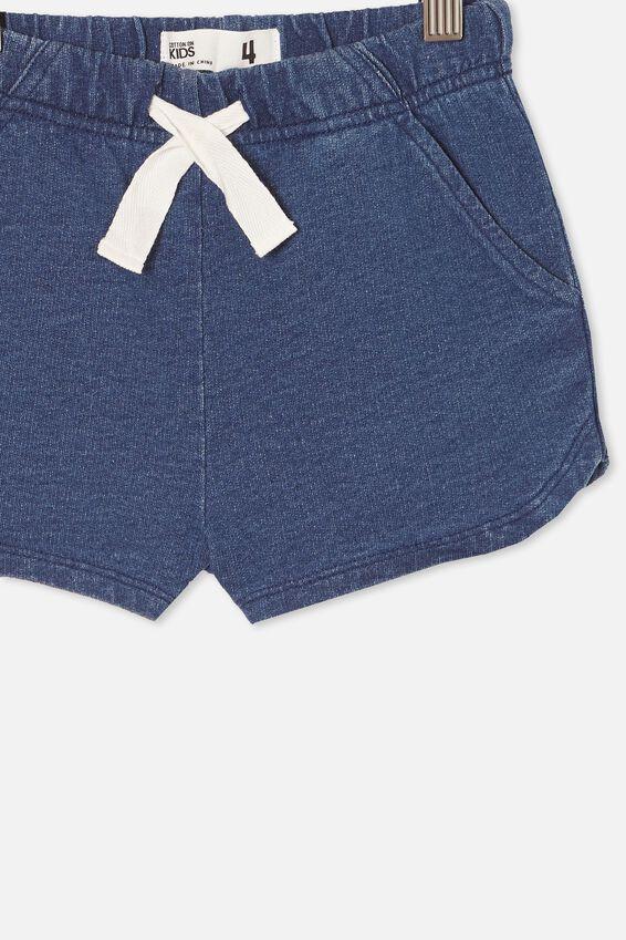 Gianna Knit Short, MID BLUE WASH