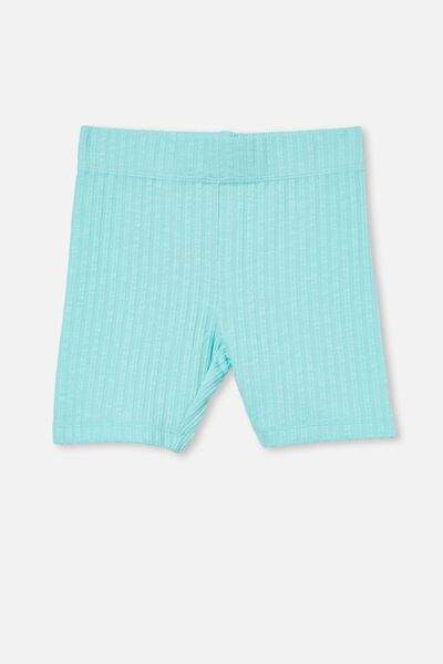 Hailey Bike Short, DREAM BLUE RIB