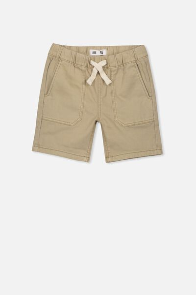 Grind Short, WASHED STONE TWILL