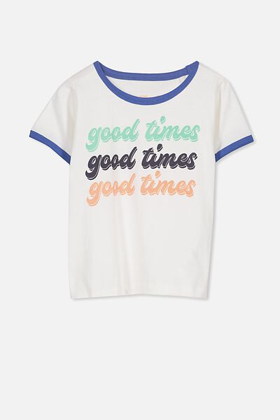 Max Short Sleeve Tee, GOOD TIMES x3/RINGER