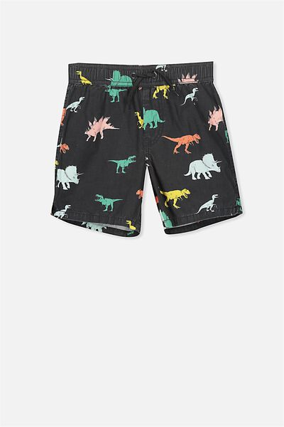 Murphy Swim Short, PHANTOM/DINO YDG 1
