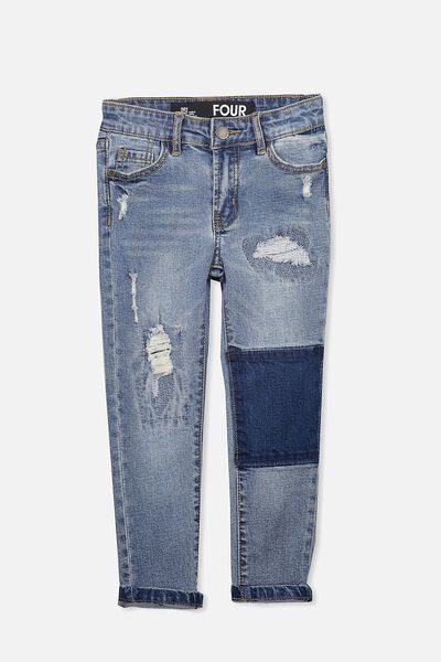 Marshall Slim Leg Jean, SO CHILLED BLUE