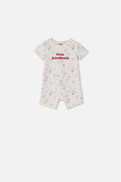 The Short Sleeve Romper, VANILLA NTH GALAXY STARS VOTE