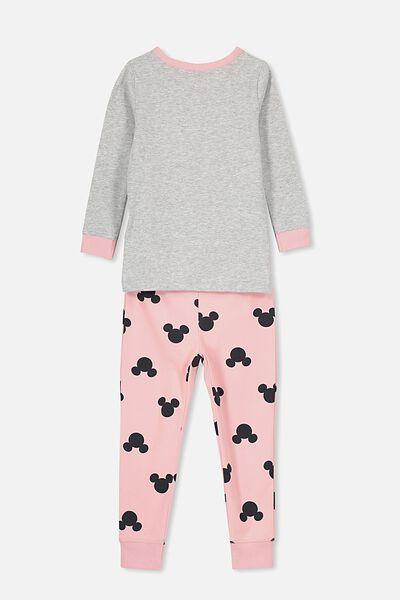 Lila Long Sleeve Pyjama Set, LCN DIS MINNIE MOUSE SKELETON