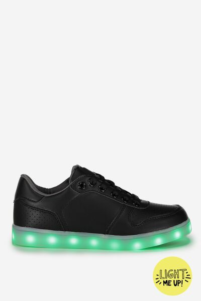 Light Me Up Led Trainer, BLACK