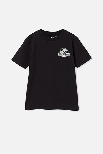 Co-Lab Short Sleeve Tee, LCN UNI PHANTOM/JURASSIC PARK LOGO