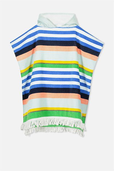 Kids Hooded Towel, STRIPE