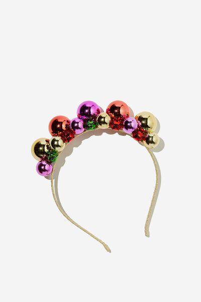 Headband - Novelty, BAUBLE HEADBAND
