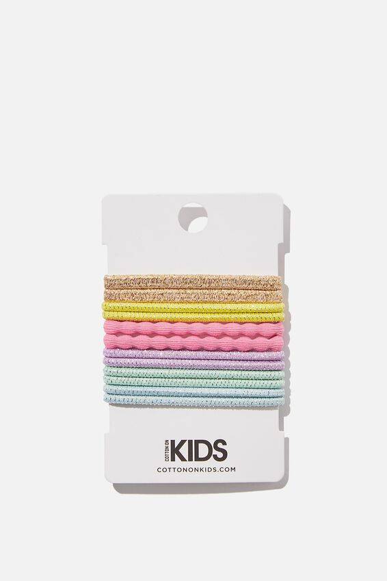Knot Messy Hairties, GOLDY BRIGHTS