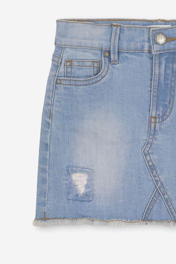 Finn Denim Skirt, VINTAGE LIGHT WASH