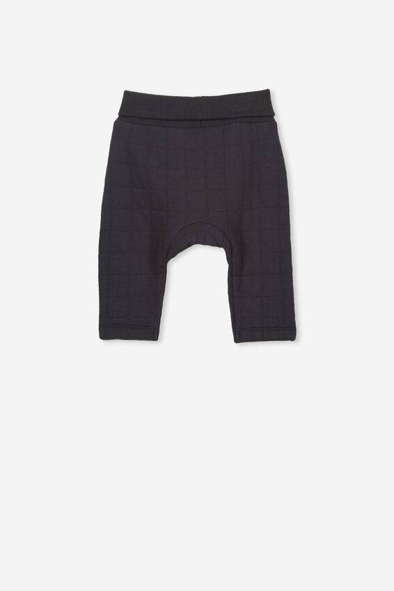 Rory Quilted Trackpant, GRAPHITE GREY