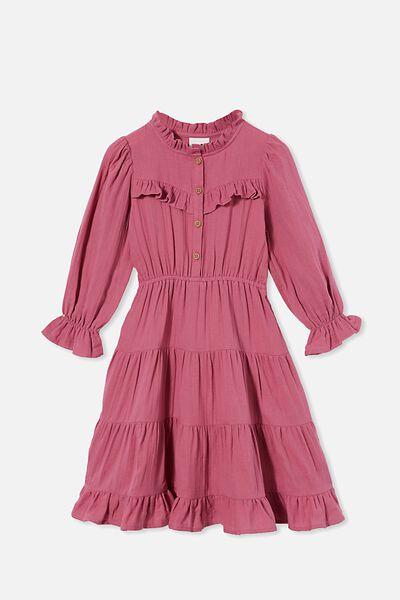 Andie Long Sleeve Dress, TULIP