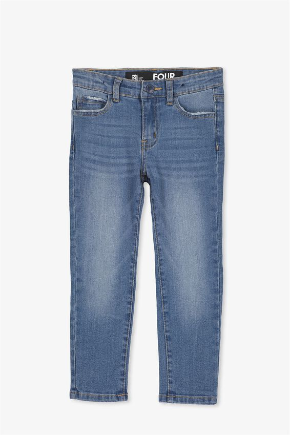 Ollie Slim Leg Jean, SPRING BLUE