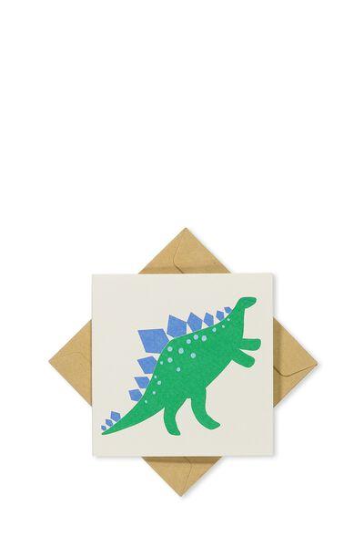 Gift Cards, WHITE DINOSAUR