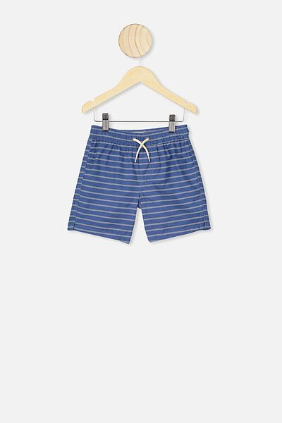 Volly Short, PETTY BLUE/STRIPE