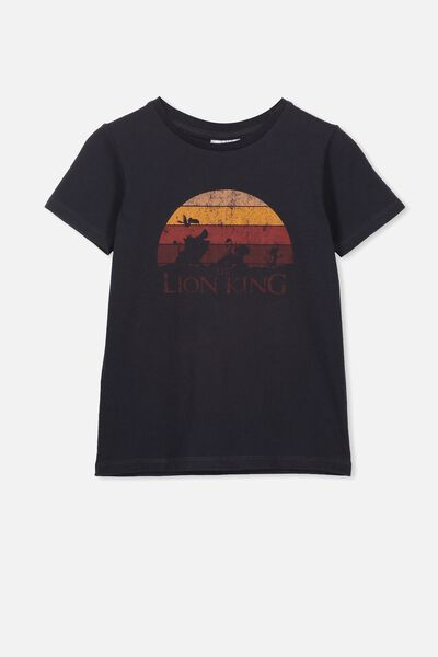 Lux Short Sleeve Tee, LCN DIS PHANTOM/LION KING SUNSET/MAX