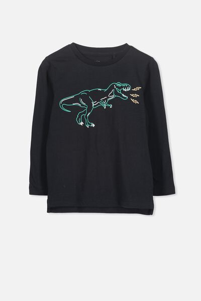 Tom Long Sleeve Tee, DINO/SIS