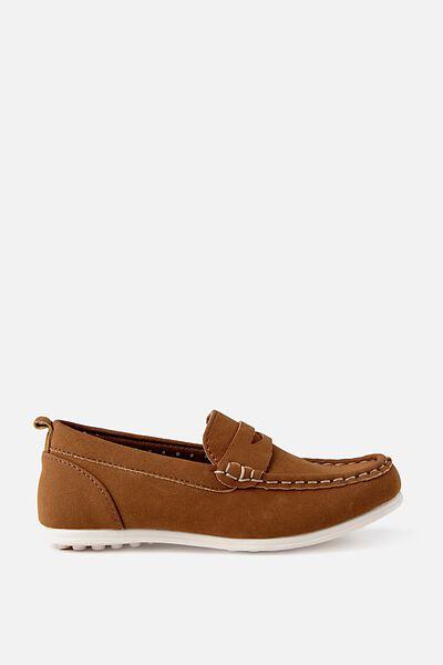 Billy Boat Shoe, TAN BROWN