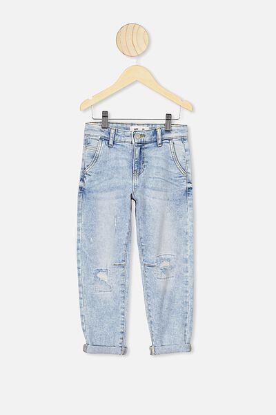 Street Jean, UTAH LIGHT BLUE WASH