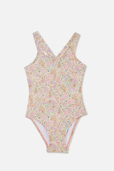 Maia One Piece, MUSK MELON/VINTAGE FLORAL