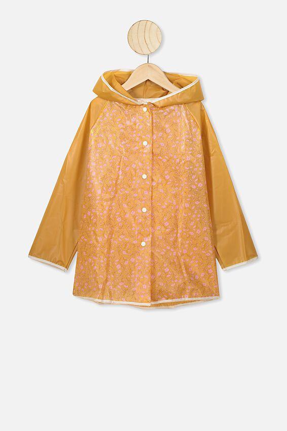 Cloudburst Raincoat, SPRIGGY FLORAL
