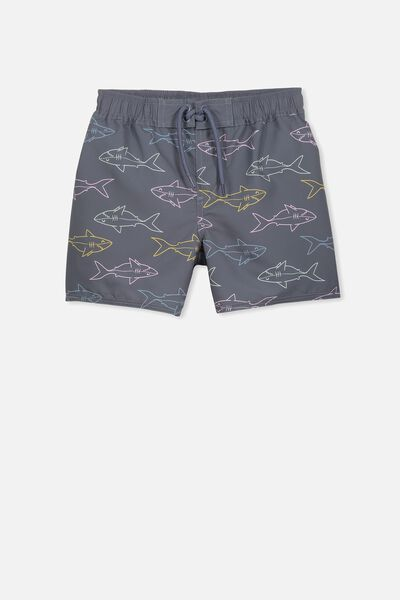 Bailey Boardshort, SHARKIES/VINTAGE NAVY