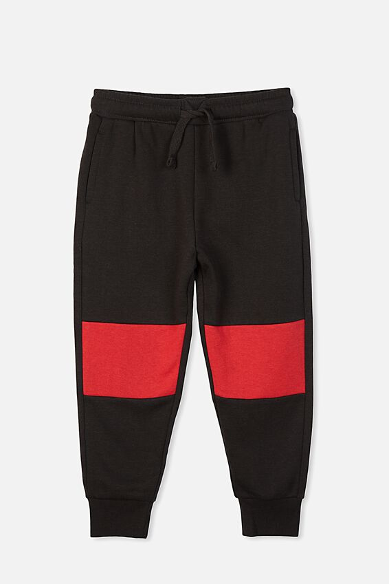 Lewis Trackpant, PHANTOM/BONFIRE RED PANEL