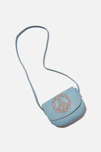 Ashley Party Bag, DUSK BLUE PEACE