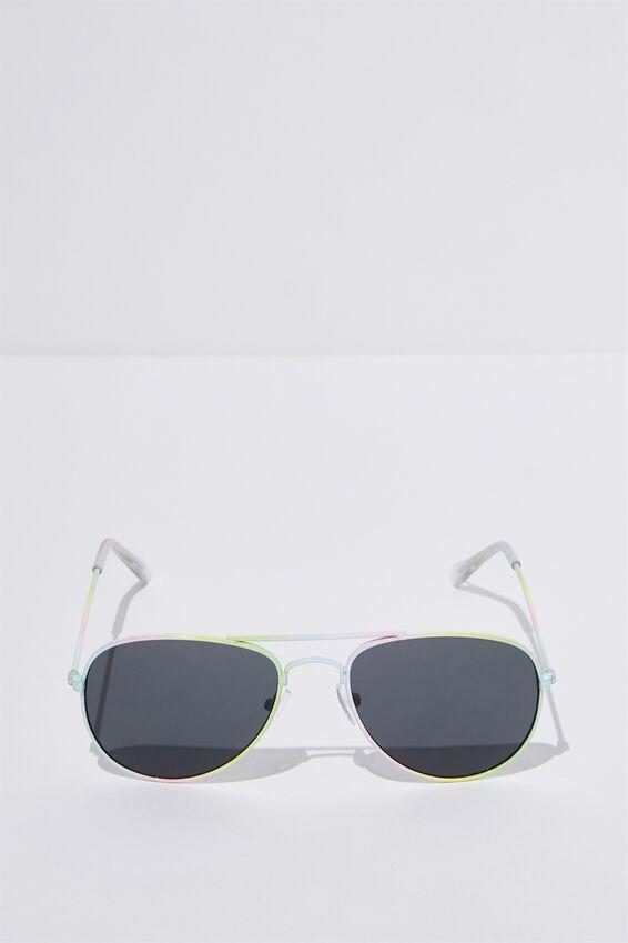 Pilot Sunglasses, RAINBOW