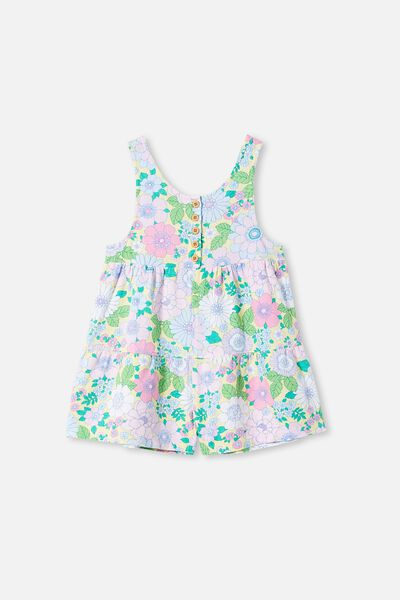 Bella Playsuit, LEMON DROP/RETRO FLORAL