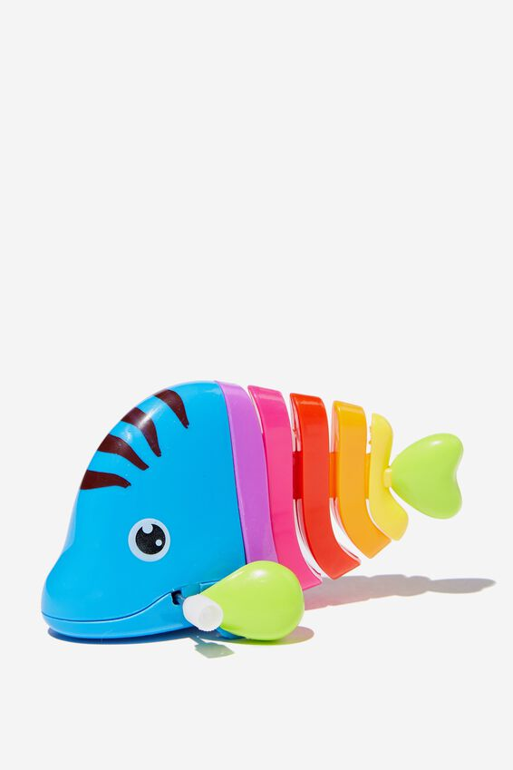 Wind Up Toy, BLUE FISH