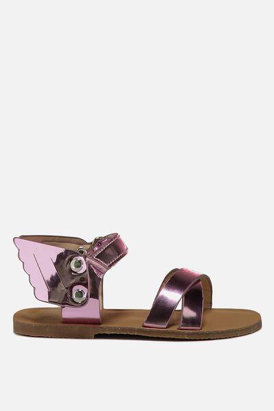 Mini Pegasus Sandal, PINK