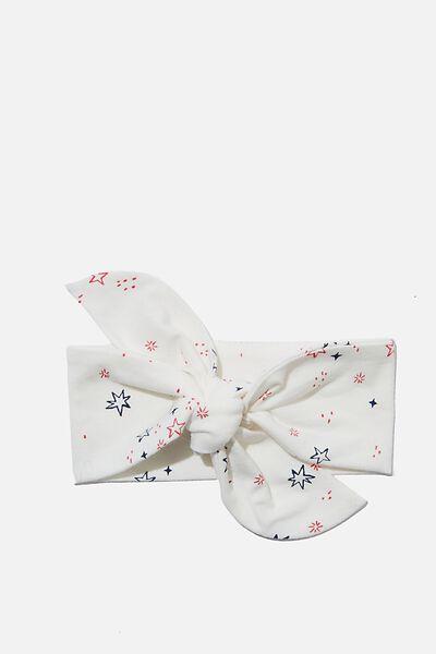 The Tie Headband, VANILLA/NTH GALAXY STARS